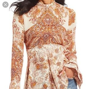 Gorgeous Ornate Tunic Free People